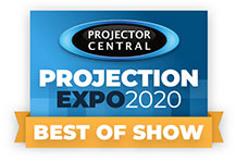 Best of Show Winner - NEC UM383WL UST HLD LED Projector