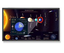 NEC DISPLAY'S 65-INCH COMMERCIAL-GRADE TOUCHSCREEN GIVES TEACHERS, STUDENTS NEW TOOL FOR ENHANCED LEARNING