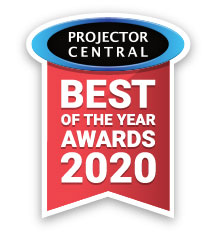 NEC PA1004UL Laser Projector included in Projector Central's 2020 Best of the Year awards