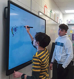 A Rural School Leads in Collaboration Technology