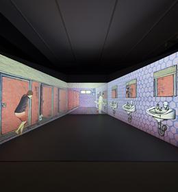Seattle art Museum's Asian art Exhibit