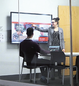 Smart Spaces - NEC Touchscreen Displays Enhance Learning and Collaboration at Toronto College