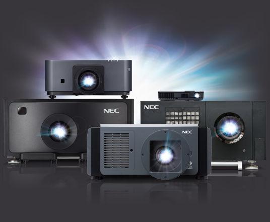 NEC's Unique Laser Projector Portfolio