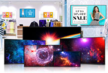 Sharp NEC Display Solutions Upgrades E Series Standalone Large Format Displays with 4K Ultra HD, a Built-In Media Player and Intuitive Controls