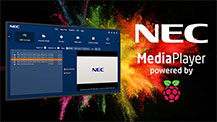 NEC Display Launches New MediaPlayer Powered by Raspberry Pi