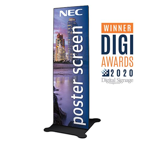 "75"" 2.5mm Direct View LED Digital Poster"
