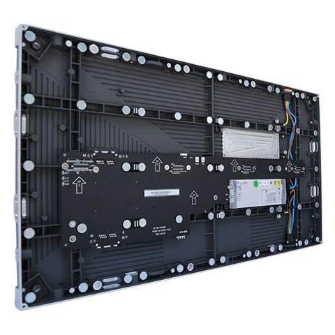 LED E Series cabinet angled