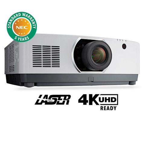8000-Lumen Professional Laser Installation Projector w/ 4K support