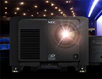 Sharp/NEC Debuts NC2443ML RB Laser Projector for Digital Cinema