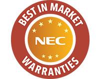 Sharp/NEC Best in Market Warranties