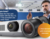 Get a FREE LENS when you purchase NEC's PA803UL‑41ZL 8,000 lumen projector