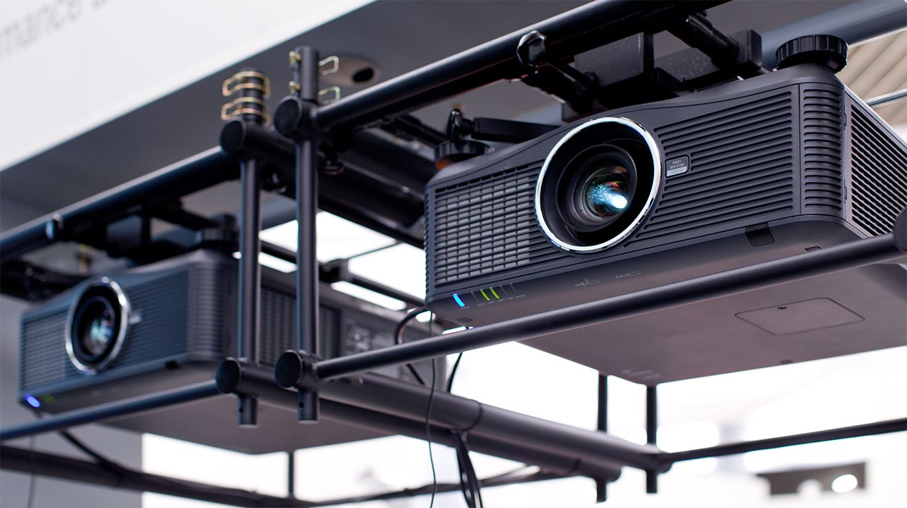 Picture of NEC's projector solutions.