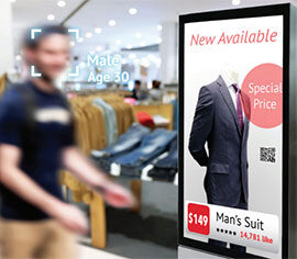 Facial Recognition Teams Up With Digital Displays to Deliver Tangible Retail Benefits