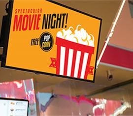 How Digital Signage Menu Boards Raise Revenue for Cinema Concession Stands