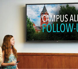 How to use Digital Signage for Campus Emergency Notifications