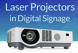 Infographic: Laser Projectors in Digital Signage
