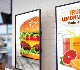 Moving from static to digital signage